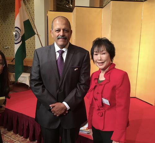 インド大使チノイ様歓迎の日