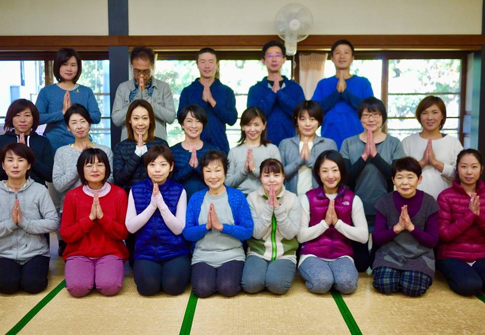 姫路・書写山円教寺で「yoga retreat!」終わりました